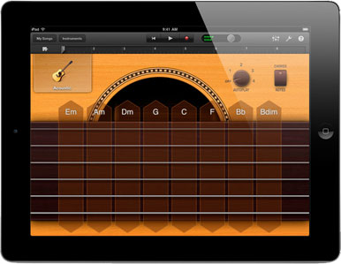 making music ipads