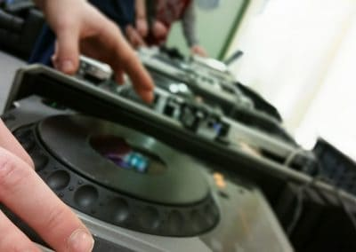 Black Mountain Action Group DJ Workshops